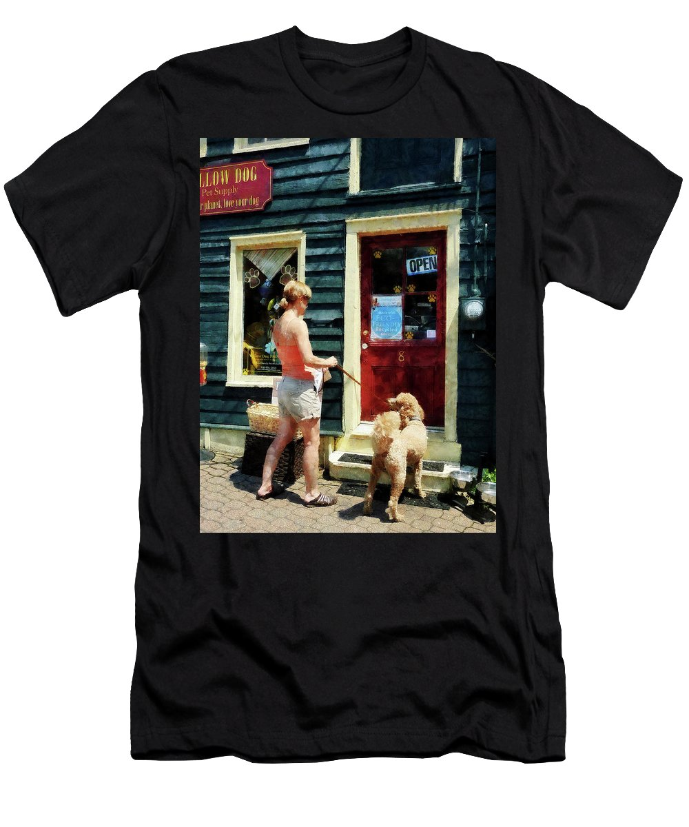 Dog Men's T-Shirt (Athletic Fit) featuring the photograph Please Can I Have A Treat by Susan Savad