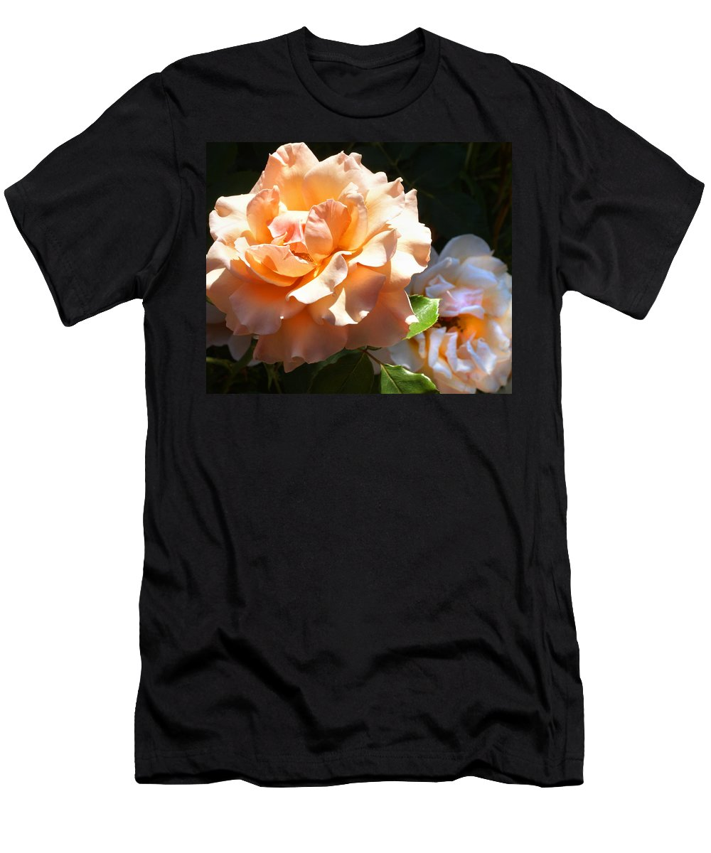Rose Men's T-Shirt (Athletic Fit) featuring the photograph Please Come Back by Sumi Martin