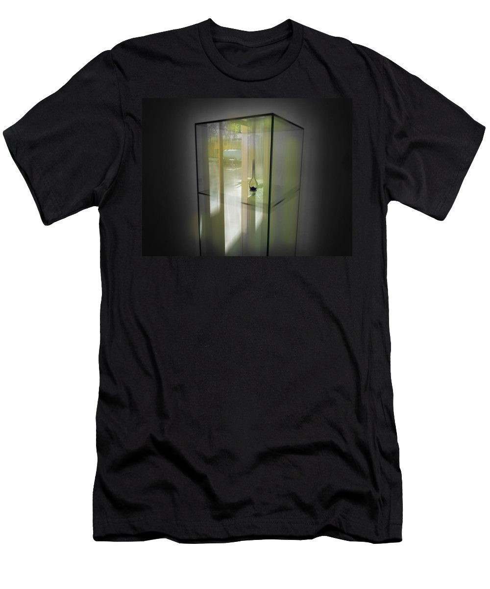 Display Men's T-Shirt (Athletic Fit) featuring the digital art Points Of View by Charles Stuart