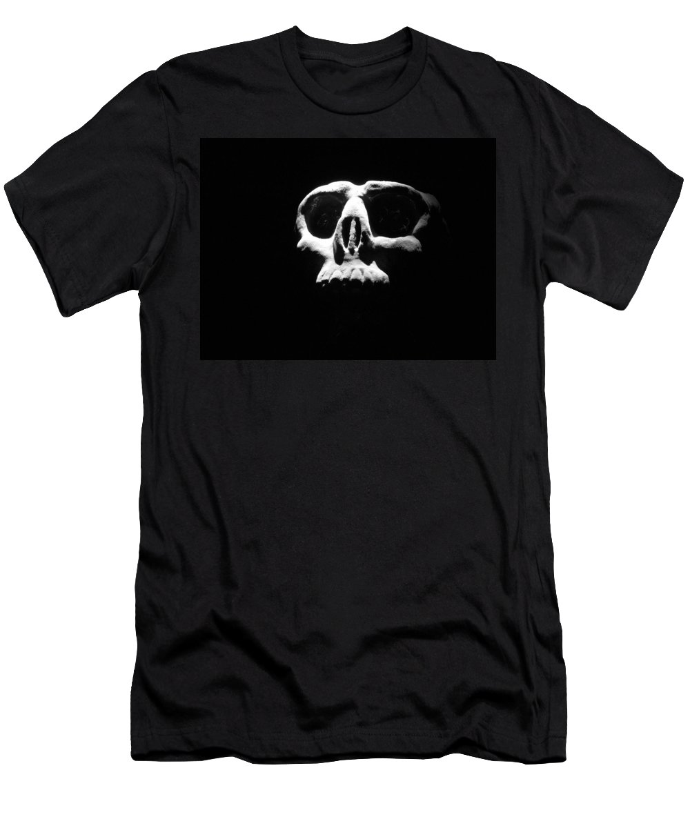 Skull Men's T-Shirt (Athletic Fit) featuring the photograph Reality Check by One Rude Dawg Orcutt