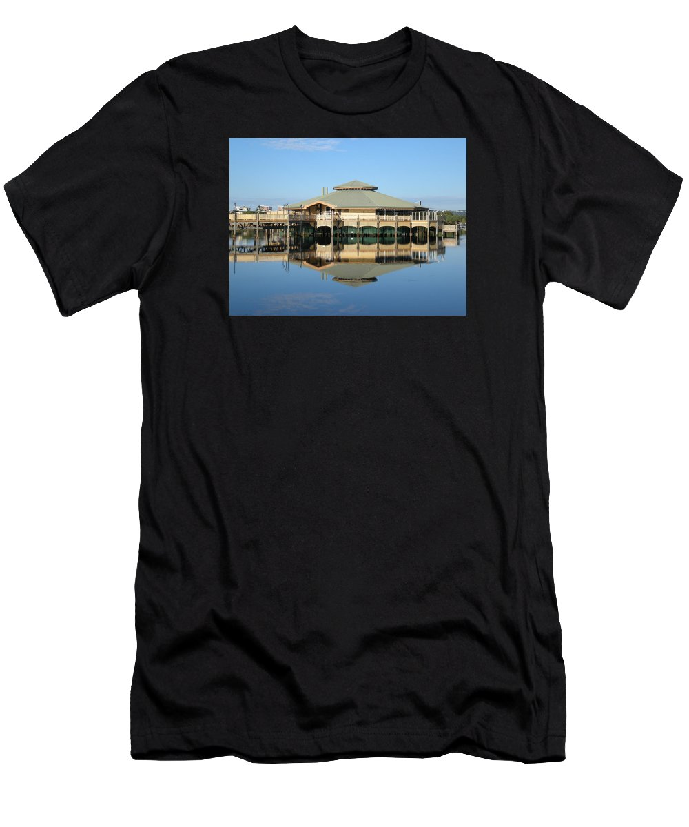 Reflection Men's T-Shirt (Athletic Fit) featuring the photograph Reflection by Marlene Challis