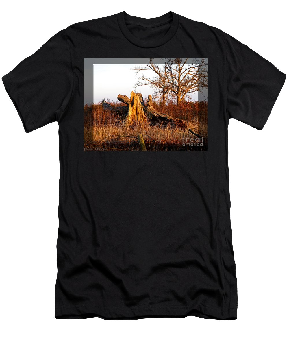 Landscape Men's T-Shirt (Athletic Fit) featuring the photograph Resting Giant by Debbie Portwood