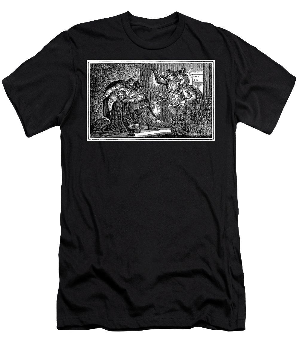 1605 Men's T-Shirt (Athletic Fit) featuring the photograph Robert Catesby (1573-1605) by Granger