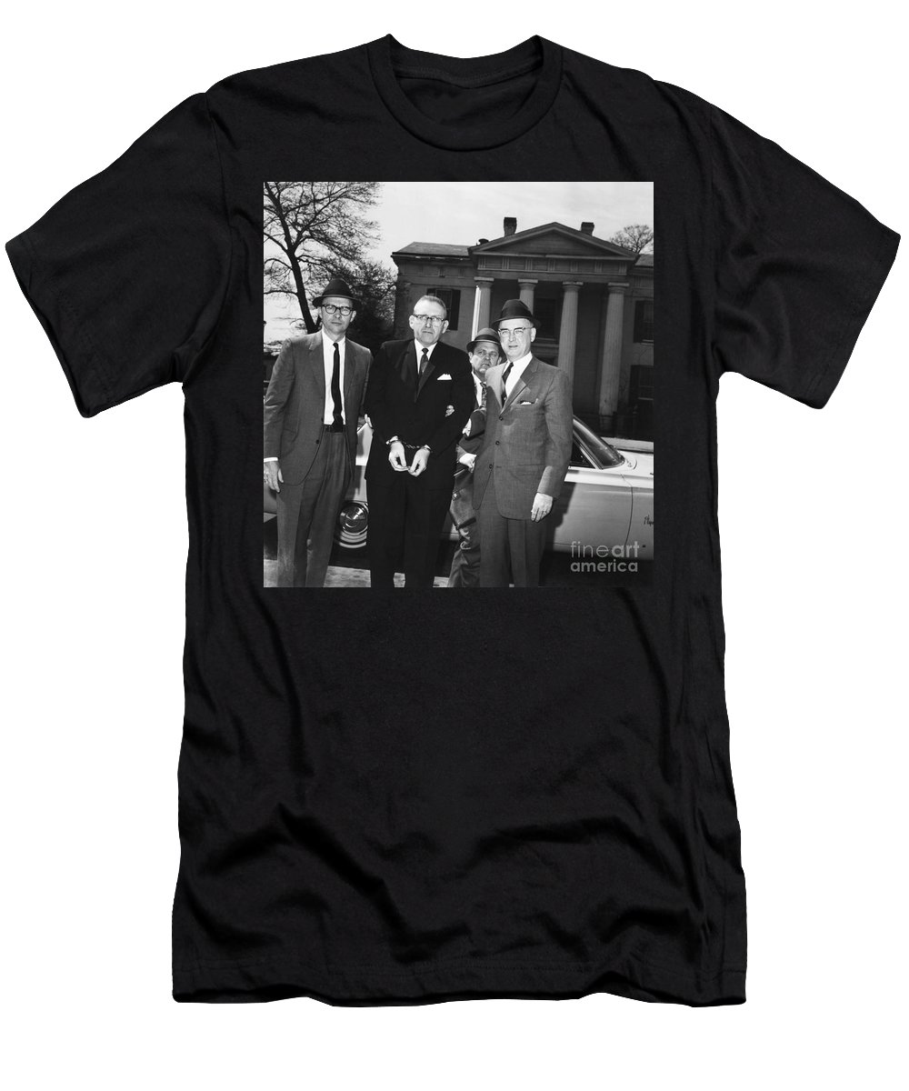 1965 Men's T-Shirt (Athletic Fit) featuring the photograph Robert Lee Johnson by Granger