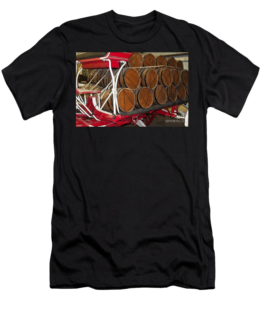Rodeo Men's T-Shirt (Athletic Fit) featuring the photograph Rodeo 16 by Larry White