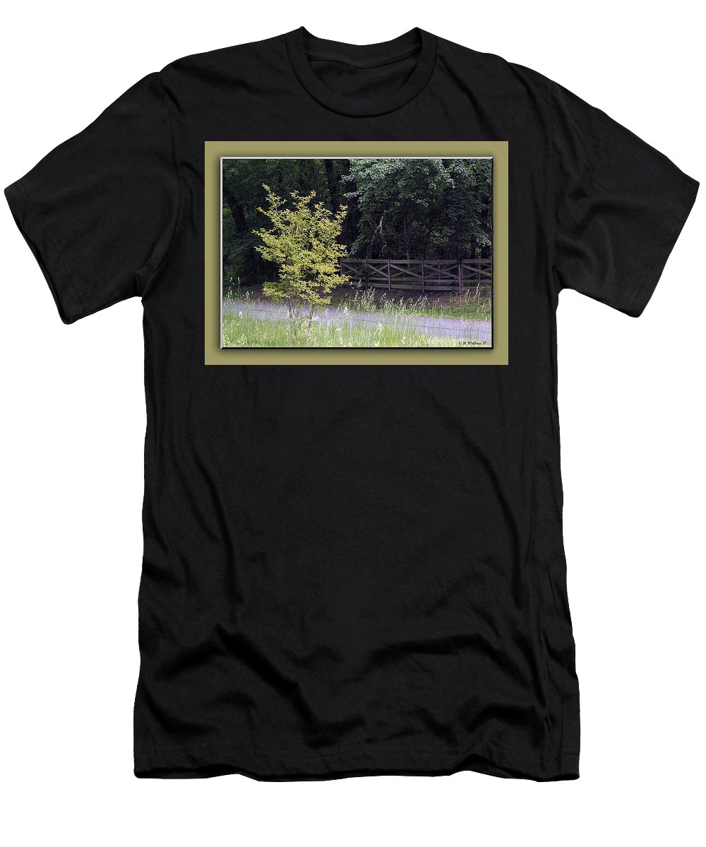 2d Men's T-Shirt (Athletic Fit) featuring the photograph Rural Landscape by Brian Wallace