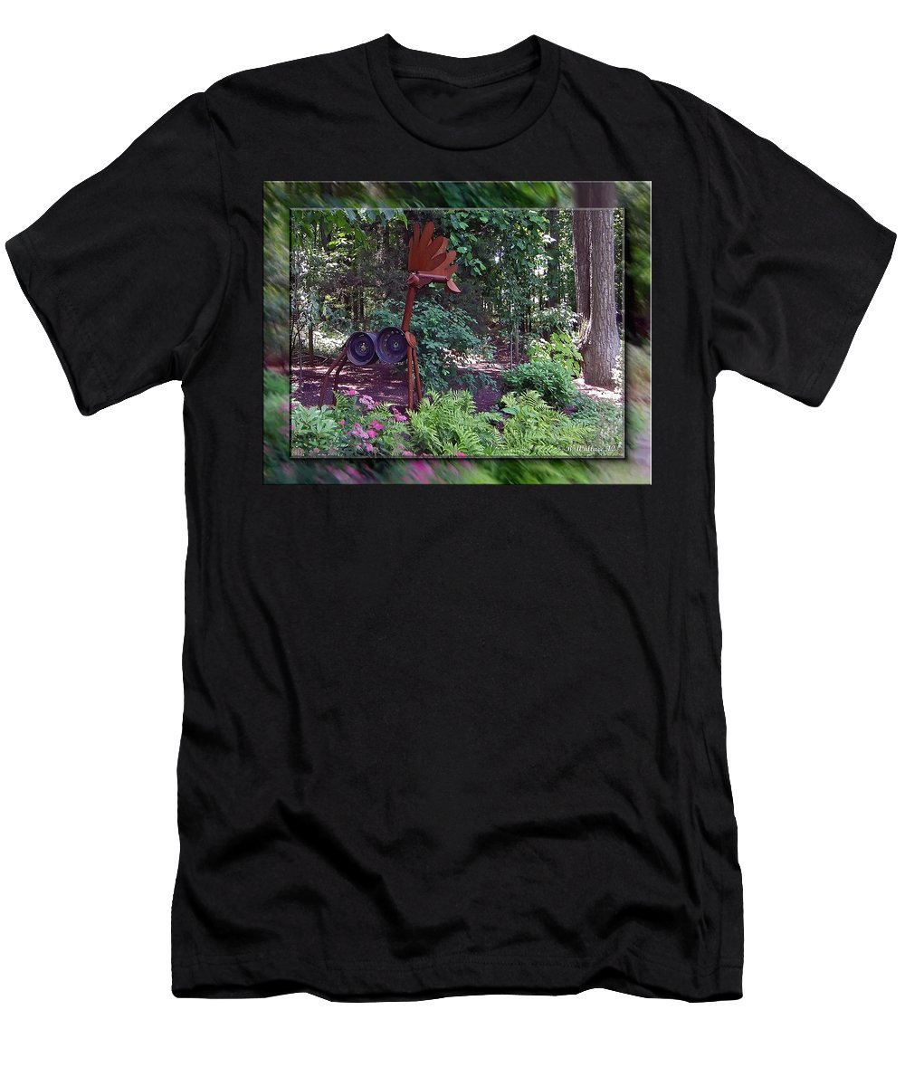 2d Men's T-Shirt (Athletic Fit) featuring the photograph Rusty The Moose by Brian Wallace