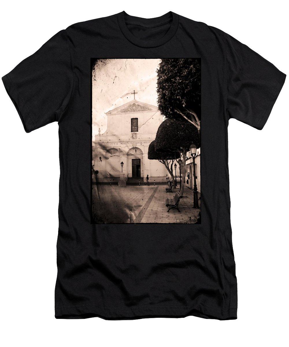 San Luis Men's T-Shirt (Athletic Fit) featuring the photograph San Luis by Pedro Cardona Llambias