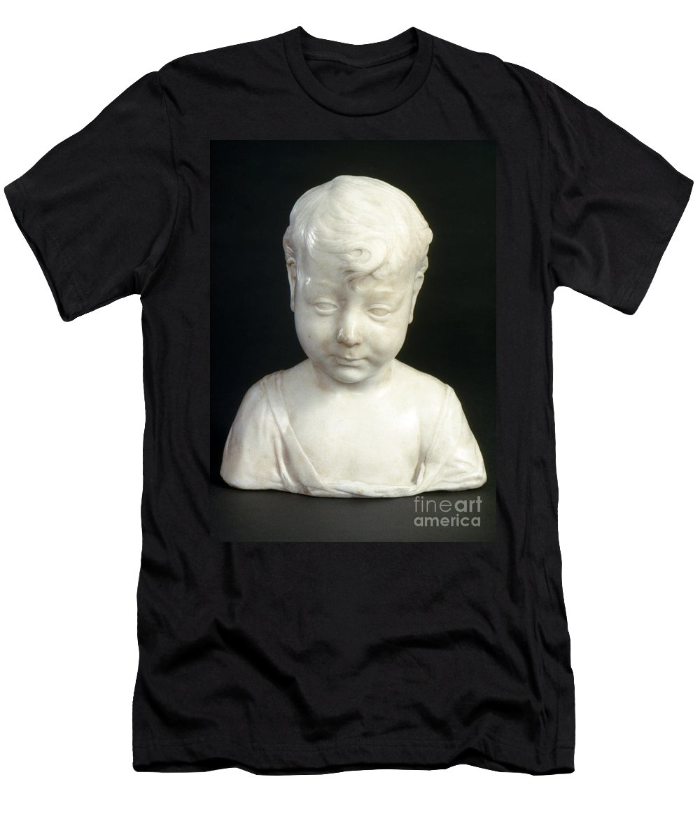 15th Century Men's T-Shirt (Athletic Fit) featuring the photograph Settignano: Christ Child by Granger