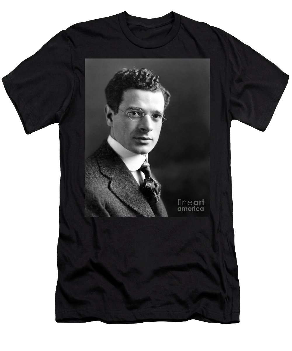 1915 Men's T-Shirt (Athletic Fit) featuring the photograph Sidney Hillman (1887-1946) by Granger