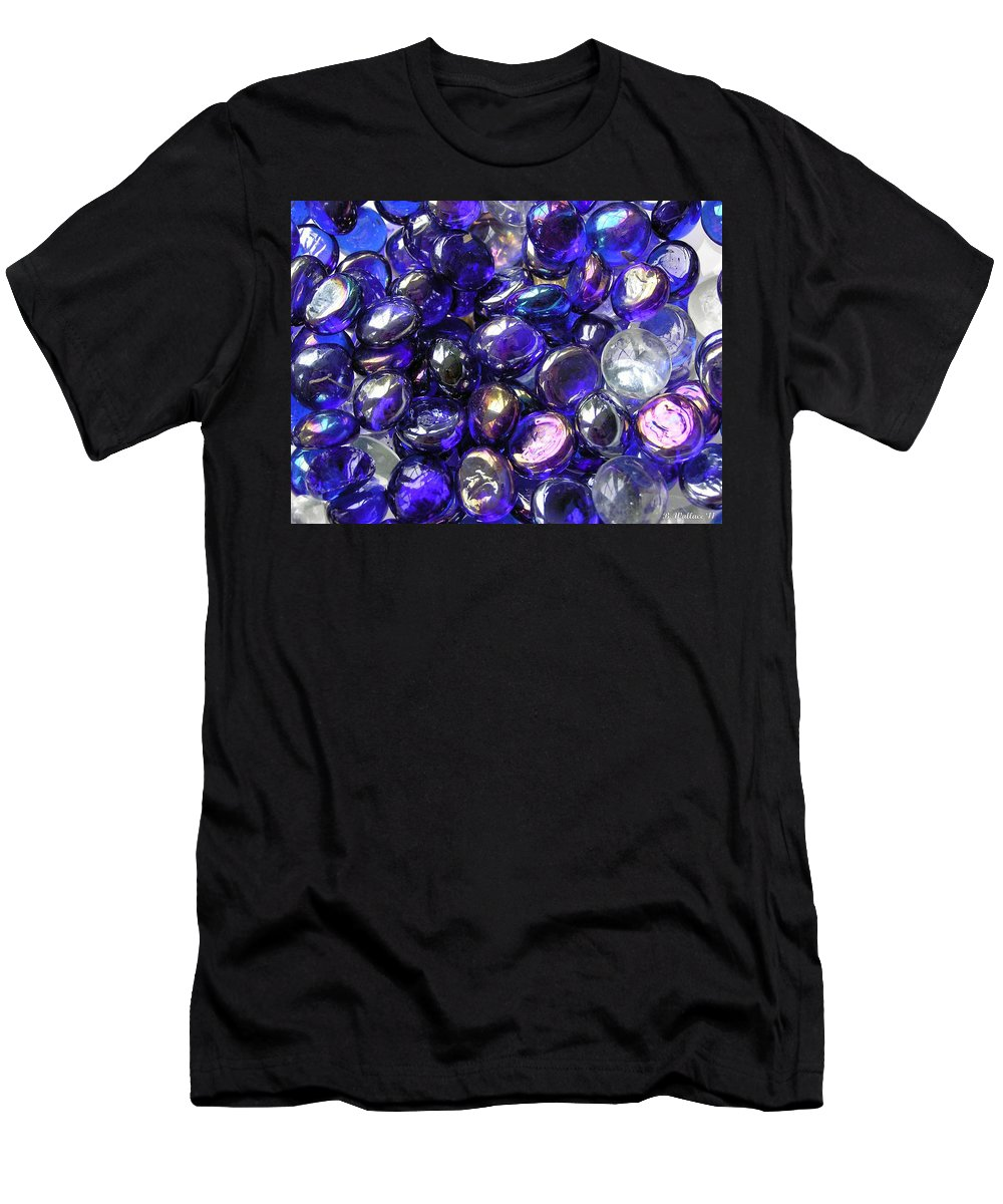 2d Men's T-Shirt (Athletic Fit) featuring the photograph Smooth Stones by Brian Wallace