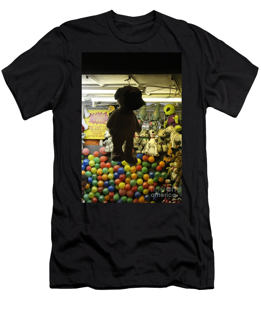 Carnival Men's T-Shirt (Athletic Fit) featuring the photograph Soft Silhouette by Alycia Christine