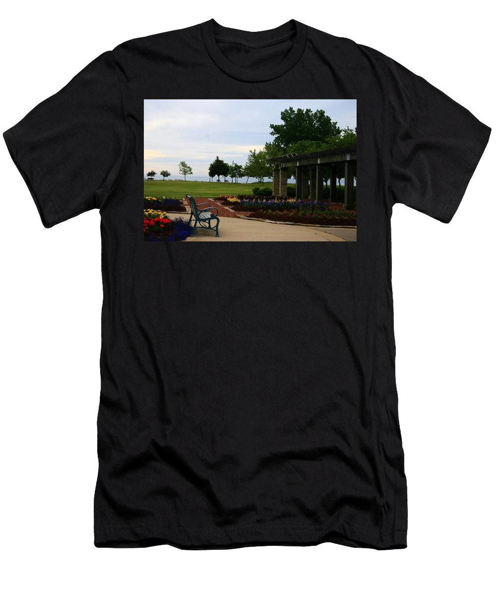 Nature Men's T-Shirt (Athletic Fit) featuring the photograph Solitude by Kay Novy