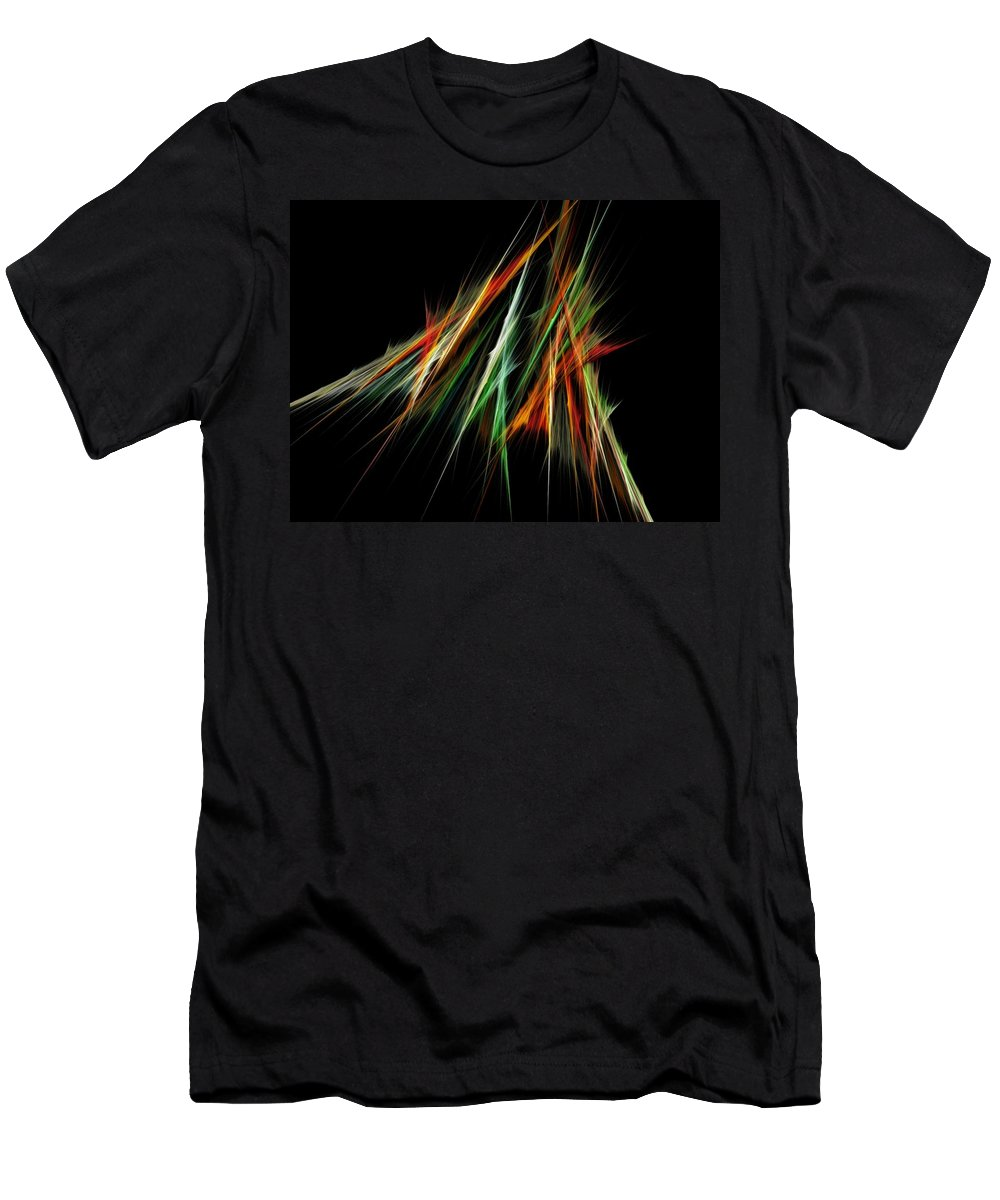 Spike Men's T-Shirt (Athletic Fit) featuring the digital art Spiked by Sara Raber