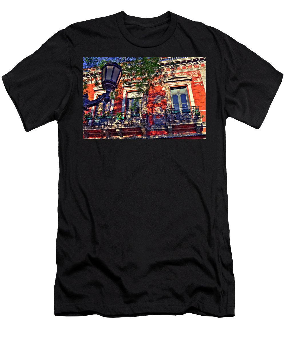 Wall Men's T-Shirt (Athletic Fit) featuring the photograph Spring Wall by Francisco Colon