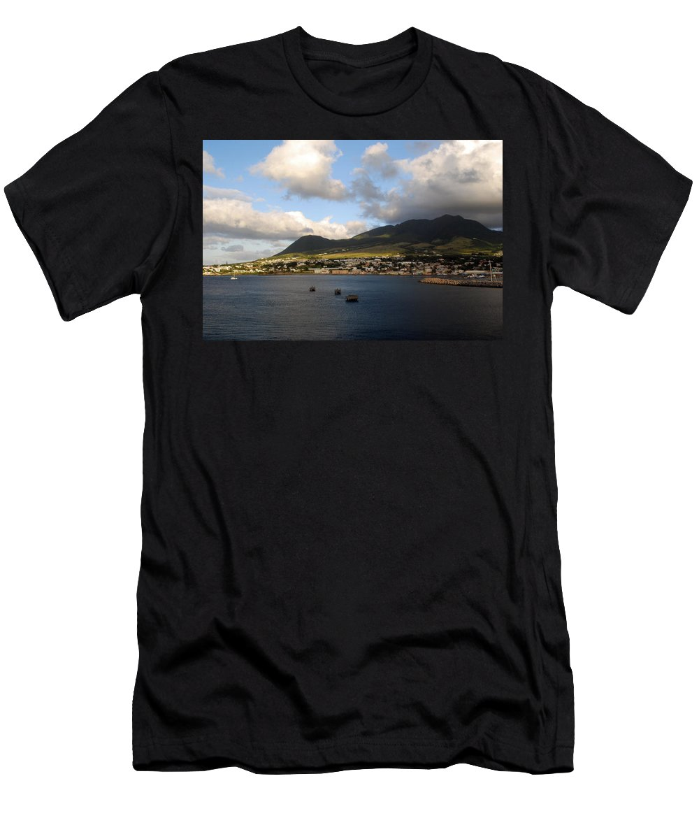 St. Kitts Men's T-Shirt (Athletic Fit) featuring the photograph St. Kitts by Gary Wonning