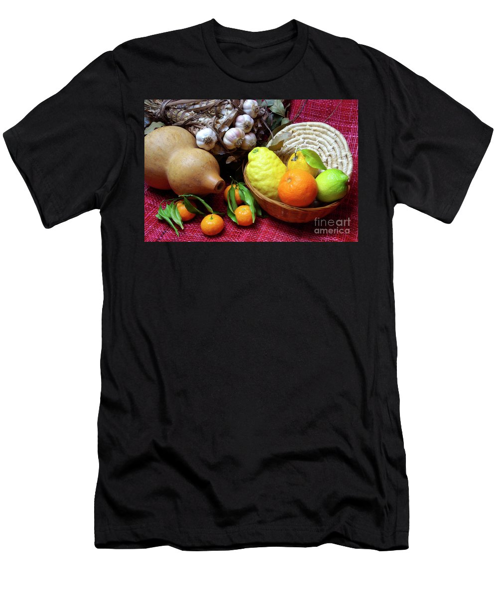 Arrangement Men's T-Shirt (Athletic Fit) featuring the photograph Still-life by Carlos Caetano