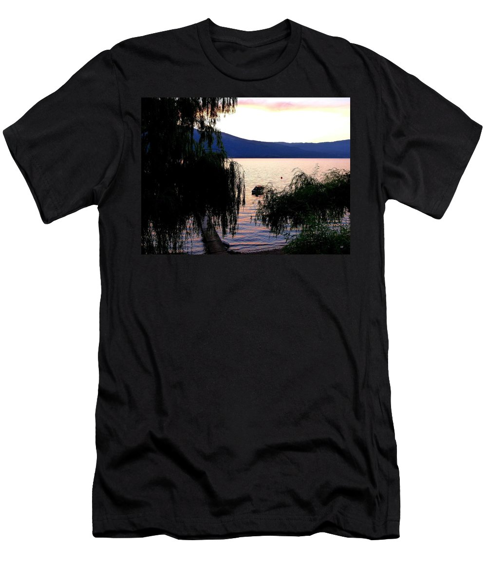 Summer Solitude Men's T-Shirt (Athletic Fit) featuring the photograph Summer Solitude by Will Borden