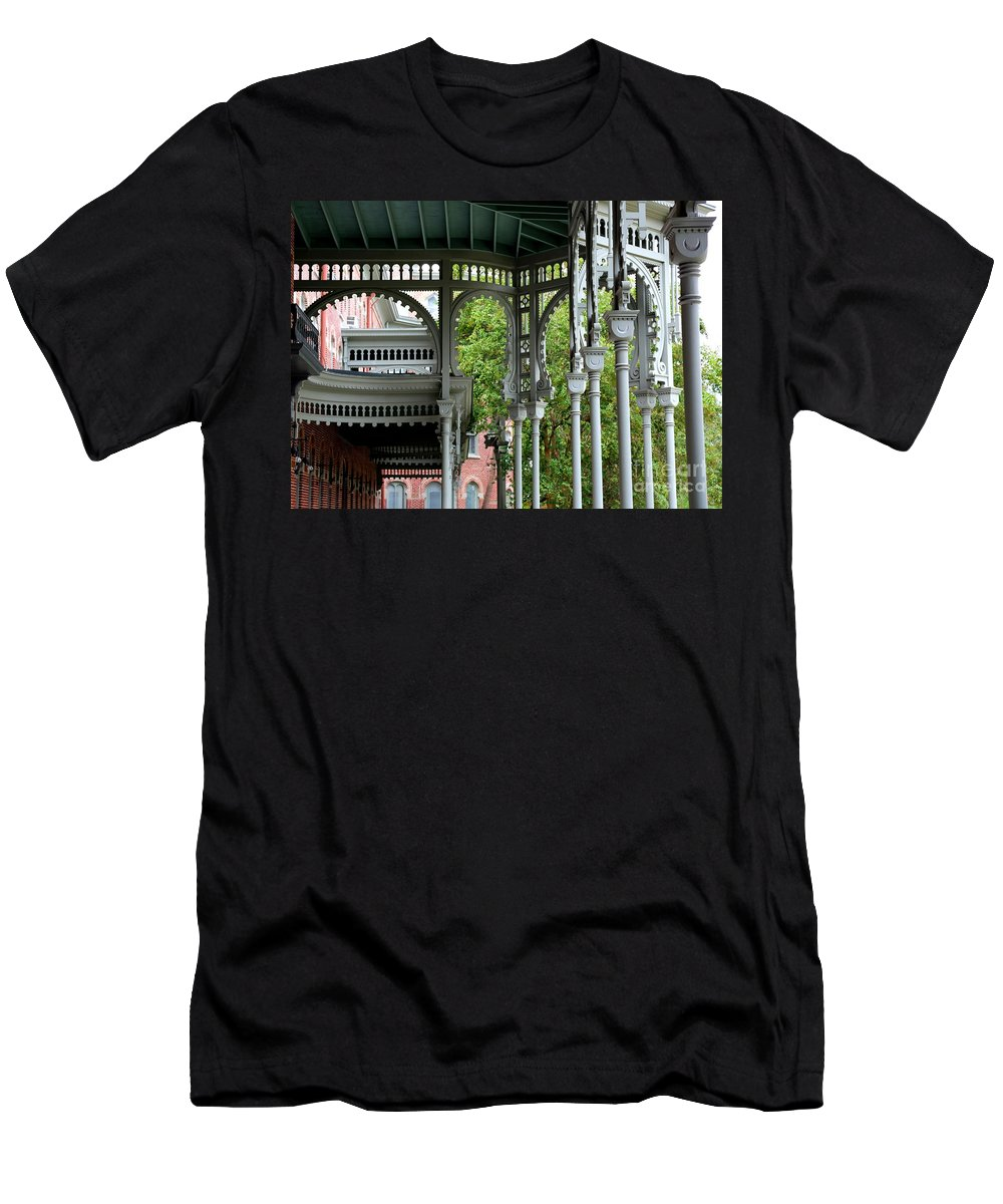 Tampa Men's T-Shirt (Athletic Fit) featuring the photograph Tampa Architecture by Carol Groenen
