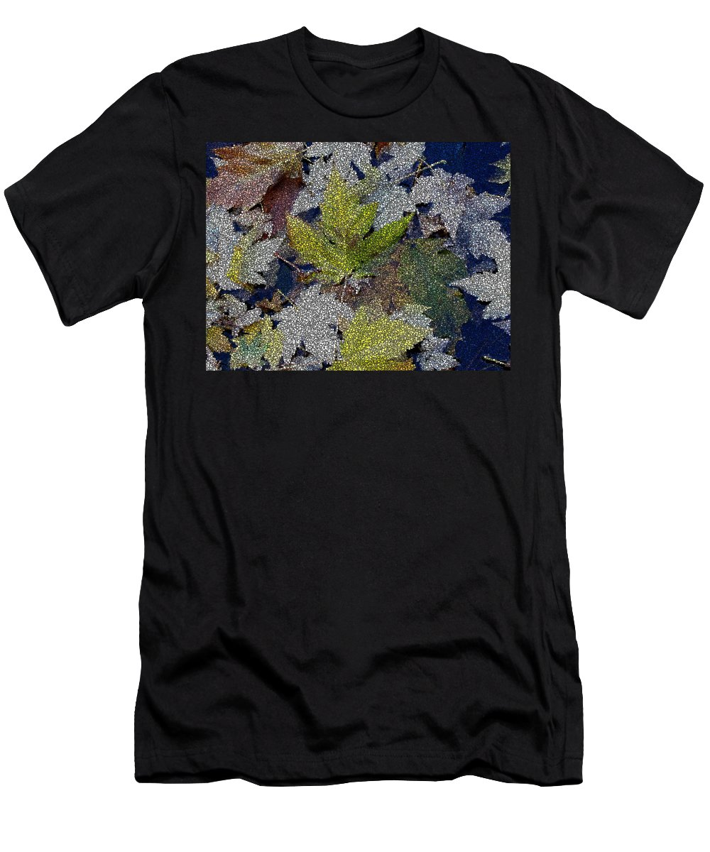 Fall Men's T-Shirt (Athletic Fit) featuring the digital art The Color Of Fall by Tim Allen