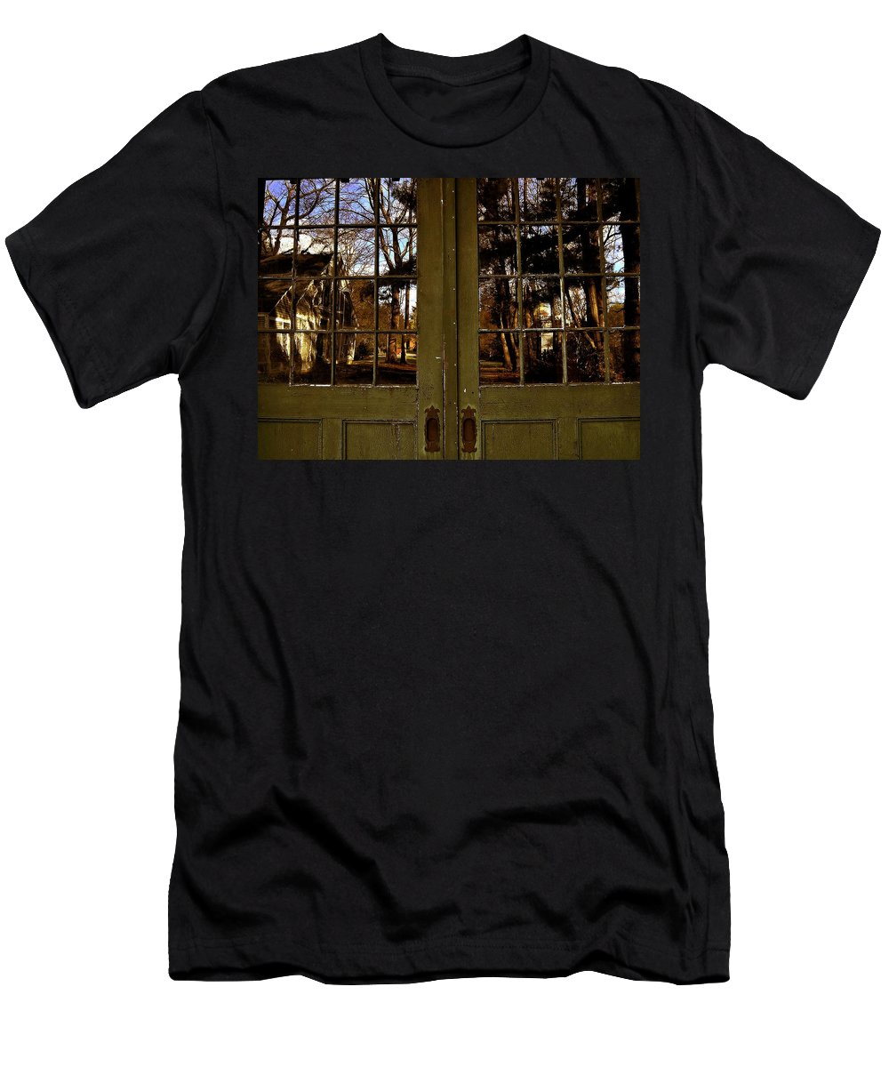 Groton School Men's T-Shirt (Athletic Fit) featuring the photograph The Reflection by Marysue Ryan