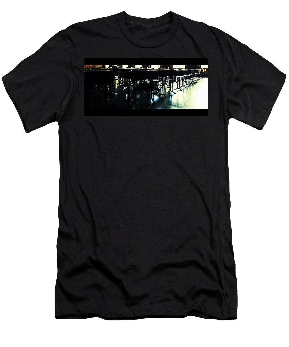 Groton School Men's T-Shirt (Athletic Fit) featuring the photograph The School Room by Marysue Ryan