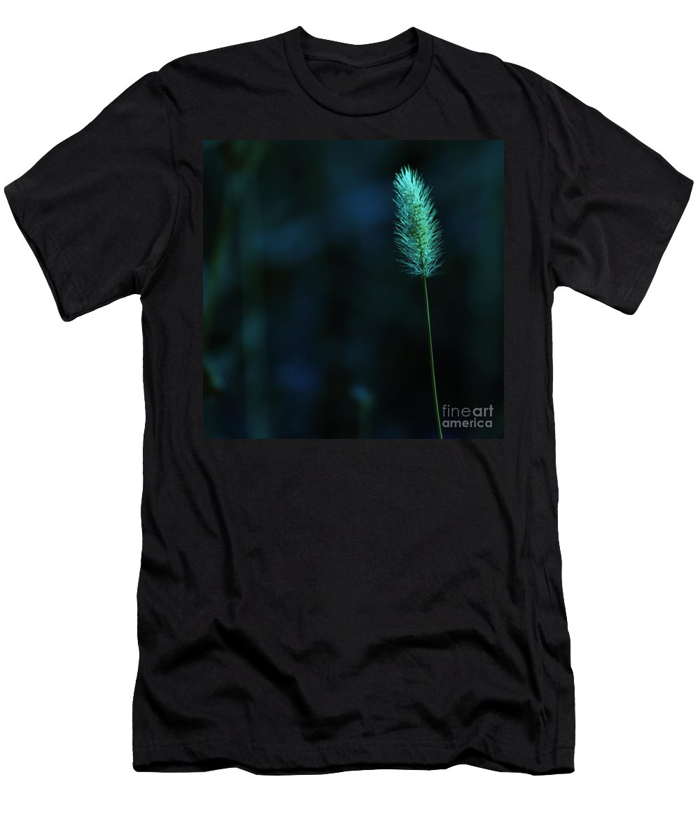 Autumn Men's T-Shirt (Athletic Fit) featuring the photograph The Solitude Near The End by Jeff Swan