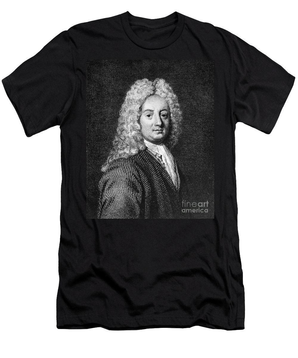 18th Century Men's T-Shirt (Athletic Fit) featuring the photograph Thomas Forster (1675-1738) by Granger