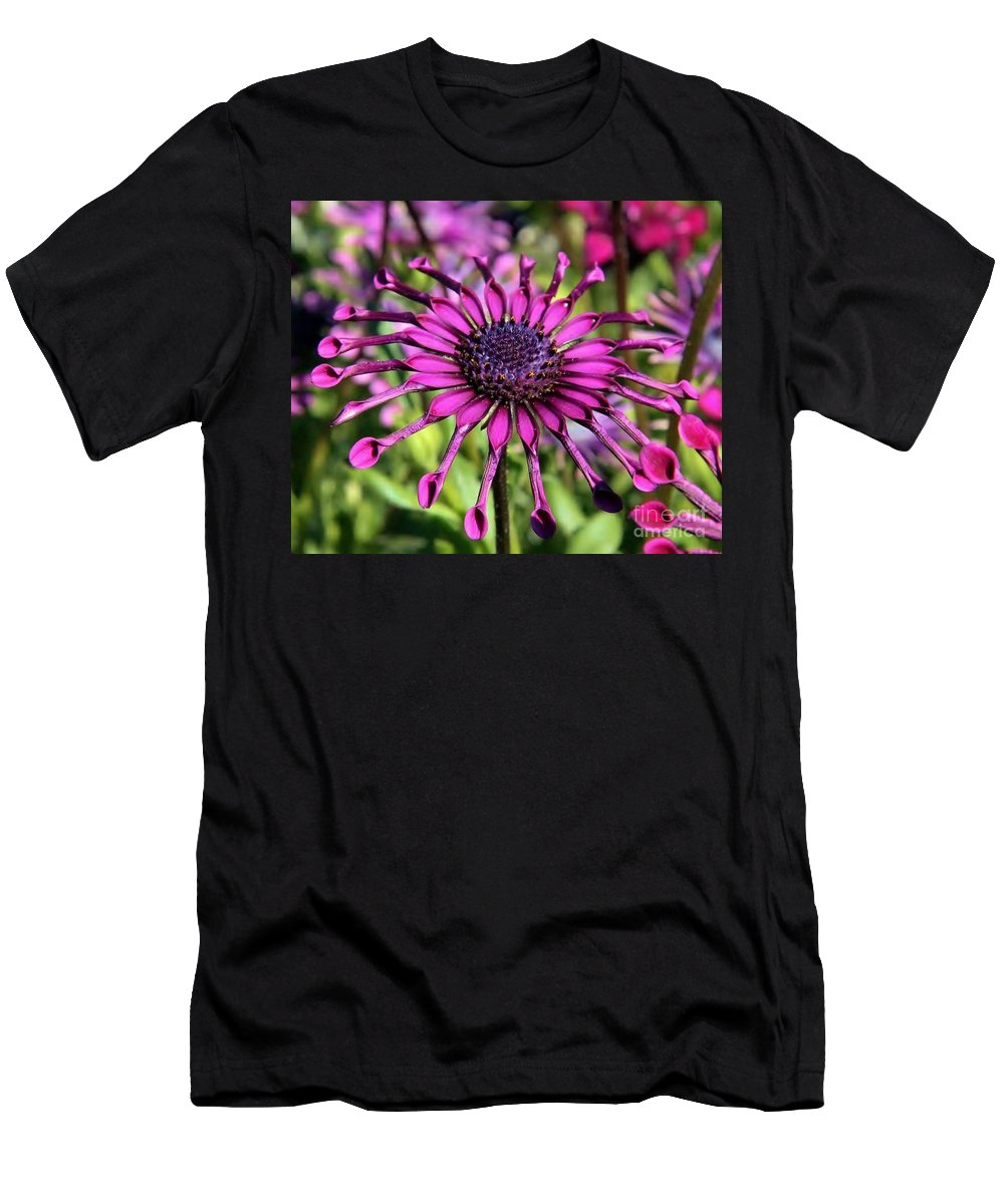 Men's T-Shirt (Athletic Fit) featuring the photograph Tubes by Diane Greco-Lesser