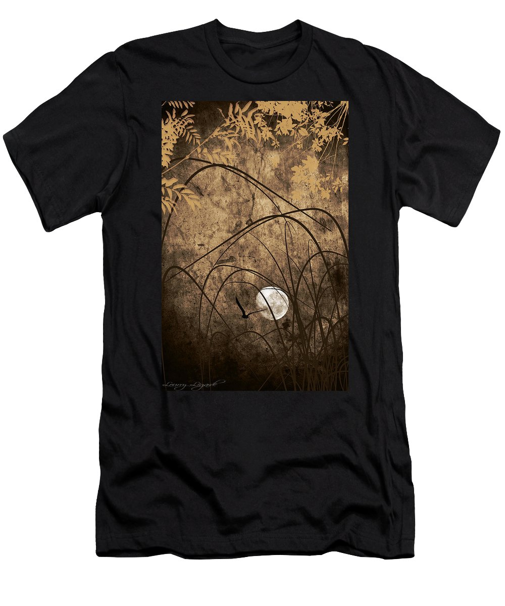 Abstract Men's T-Shirt (Athletic Fit) featuring the photograph Unseen by Lourry Legarde