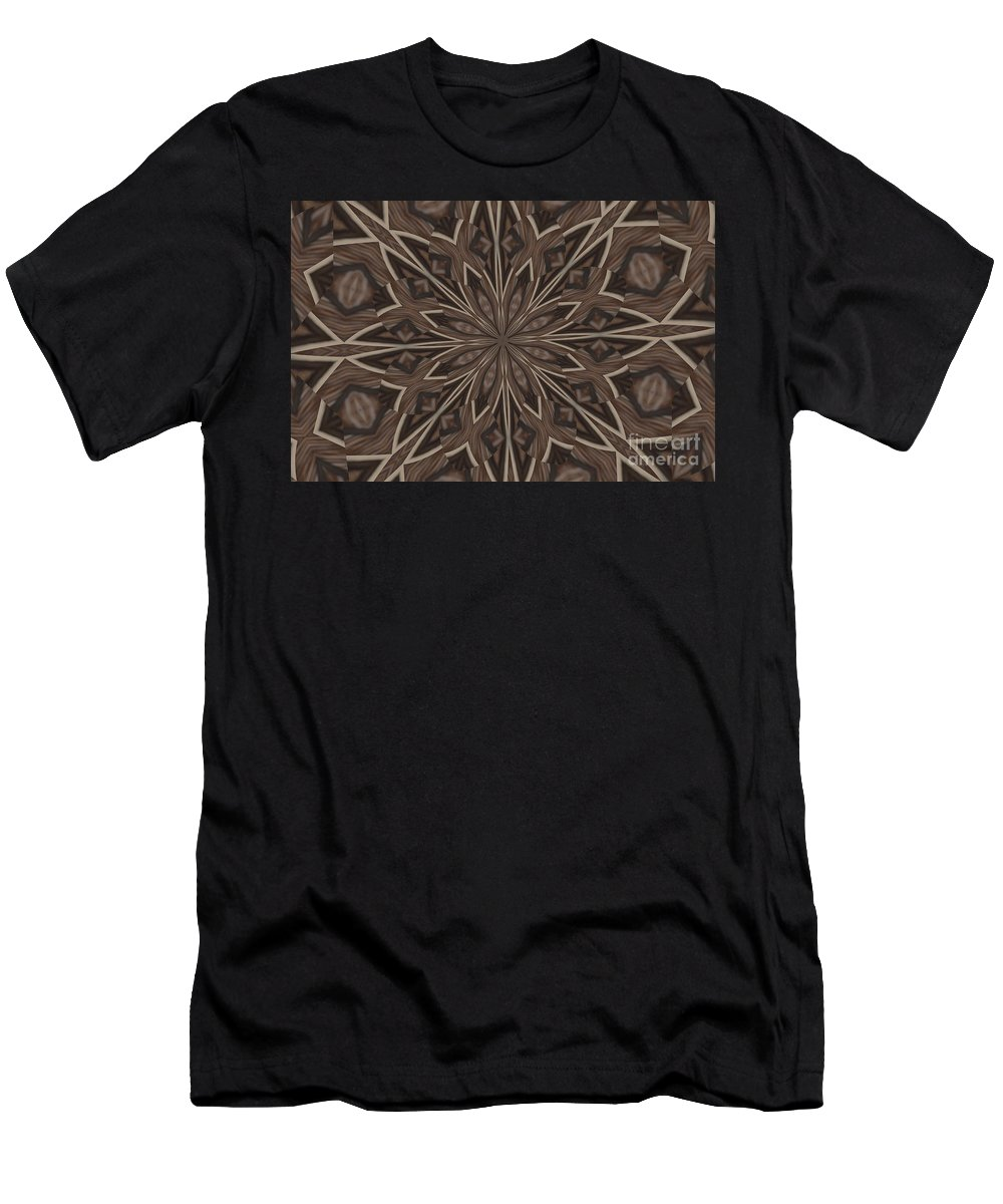 Kaleidoscope Men's T-Shirt (Athletic Fit) featuring the photograph Very Difference by Donna Brown