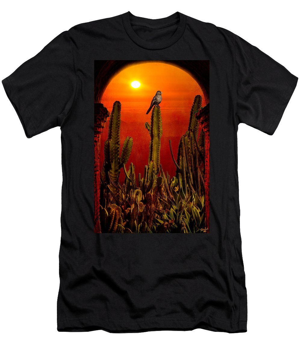 California Men's T-Shirt (Athletic Fit) featuring the photograph View From The Mission by Chris Lord