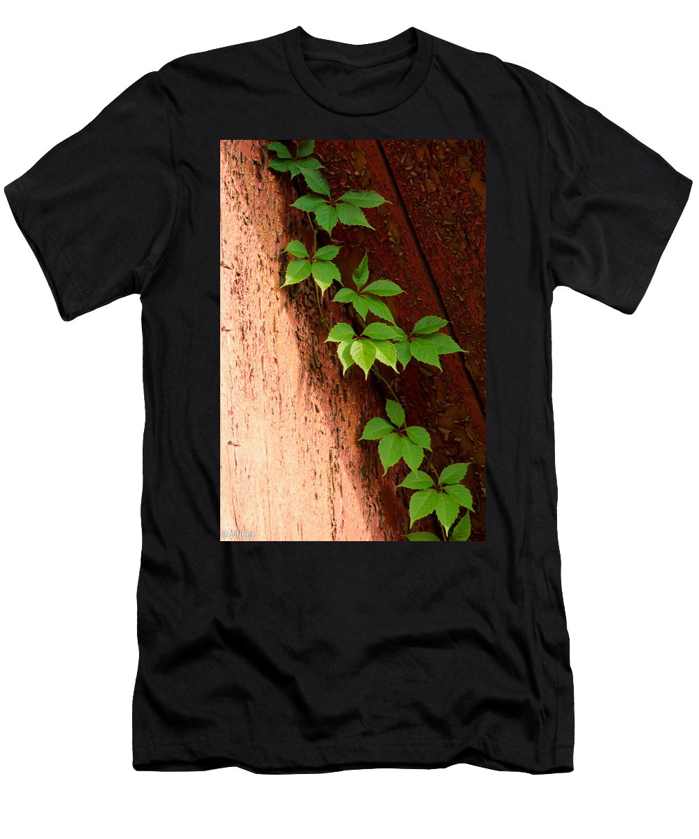 Vitis Men's T-Shirt (Athletic Fit) featuring the photograph Vitis by Michael Goyberg