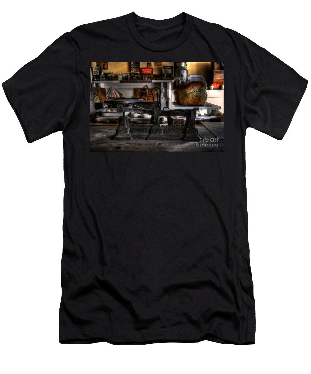 Art Men's T-Shirt (Athletic Fit) featuring the photograph Weight Watcher by Yhun Suarez