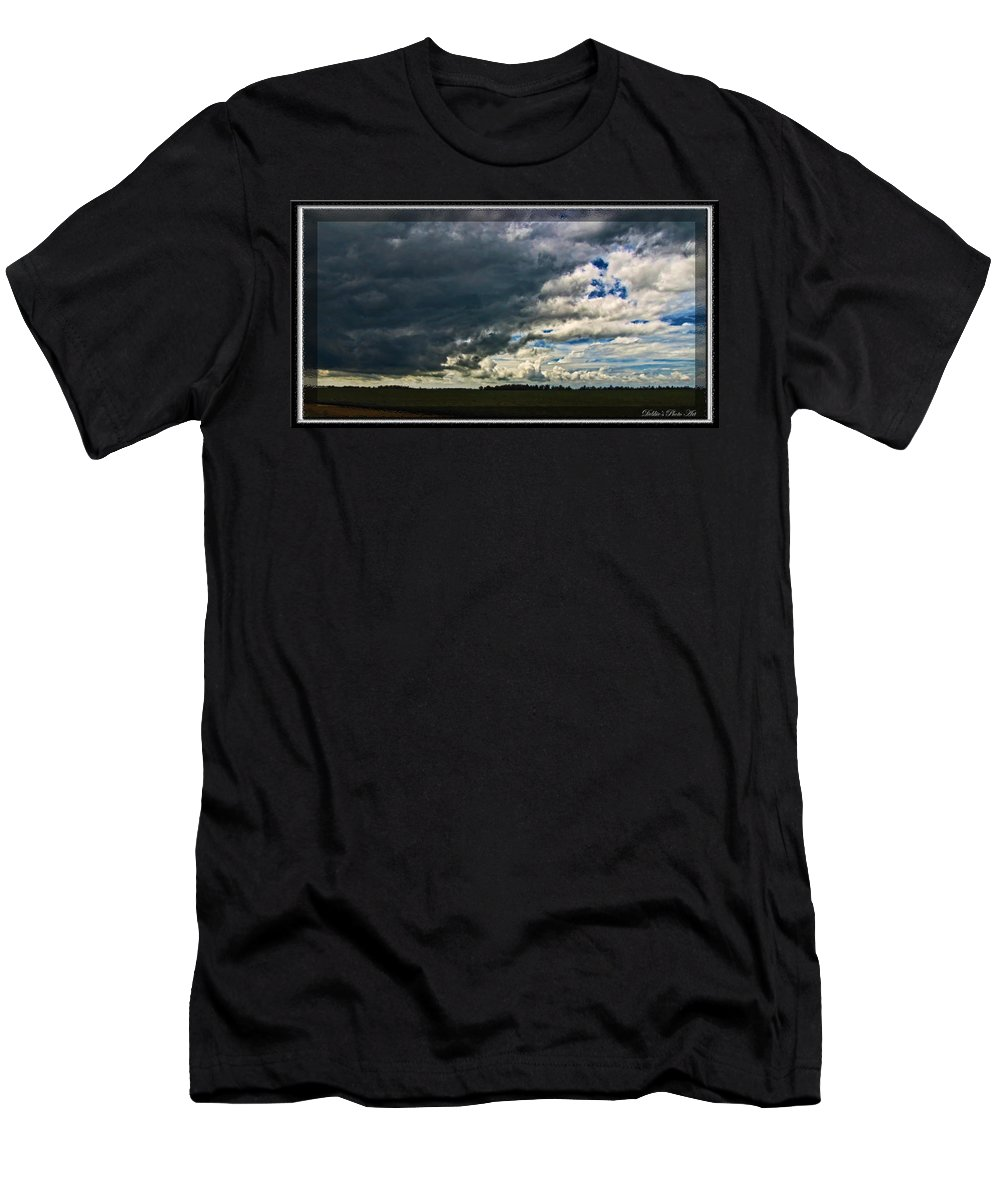 Landscape Men's T-Shirt (Athletic Fit) featuring the photograph Welcome Summer Shower by Debbie Portwood