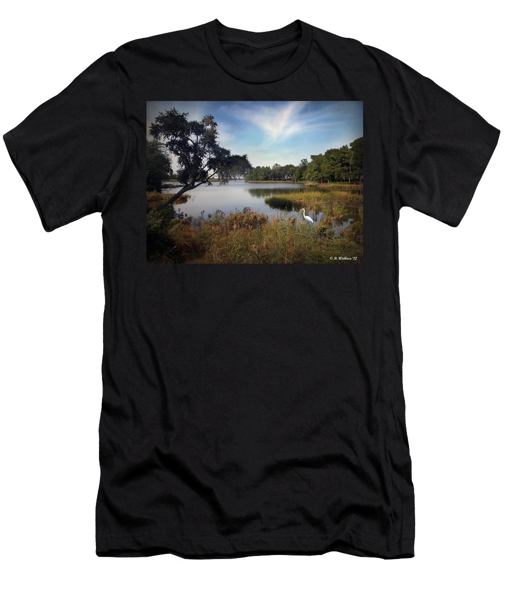 2d Men's T-Shirt (Athletic Fit) featuring the photograph Wetlands by Brian Wallace