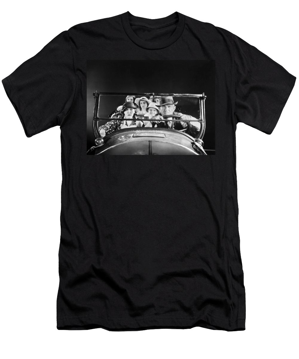 1933 Men's T-Shirt (Athletic Fit) featuring the photograph Will Rogers (1879-1935) by Granger