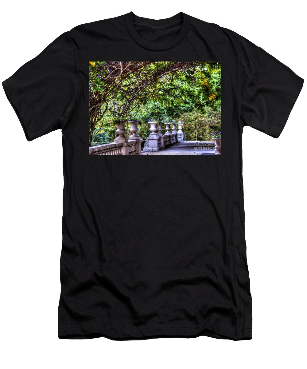 Vines T-Shirt featuring the photograph Wine and Vine by Debbi Granruth