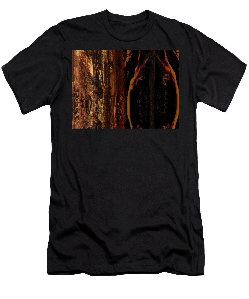 Digital Art Men's T-Shirt (Athletic Fit) featuring the digital art Wizened by Amanda Moore
