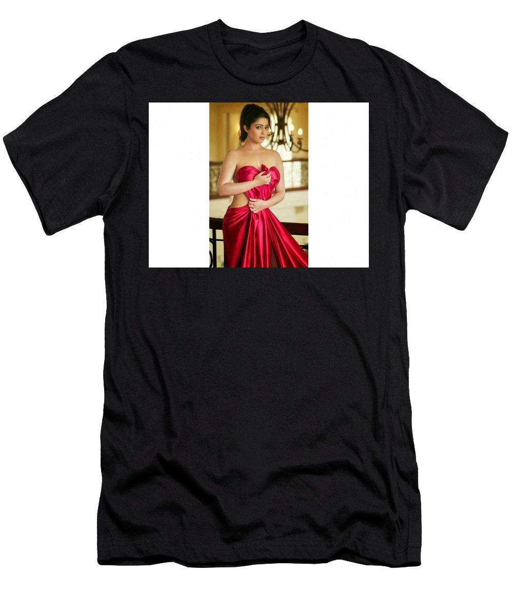 Men's T-Shirt (Athletic Fit) featuring the sculpture Garcinia Lean Xtreme by Voilet Ann