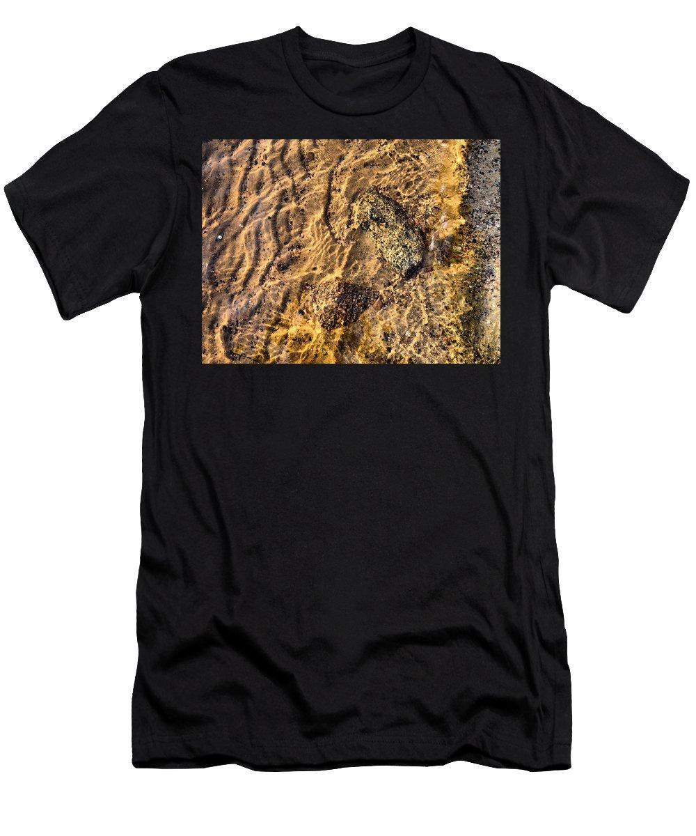 Haukkajärvi Men's T-Shirt (Athletic Fit) featuring the photograph Lakescape 1 by Jouko Lehto