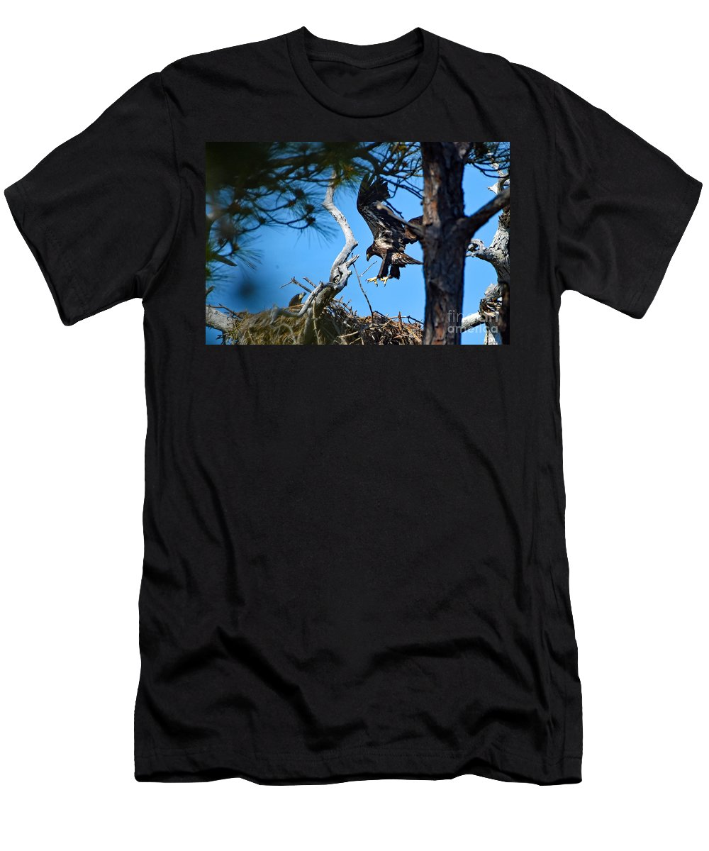 Men's T-Shirt (Athletic Fit) featuring the photograph 0854 by Don Solari