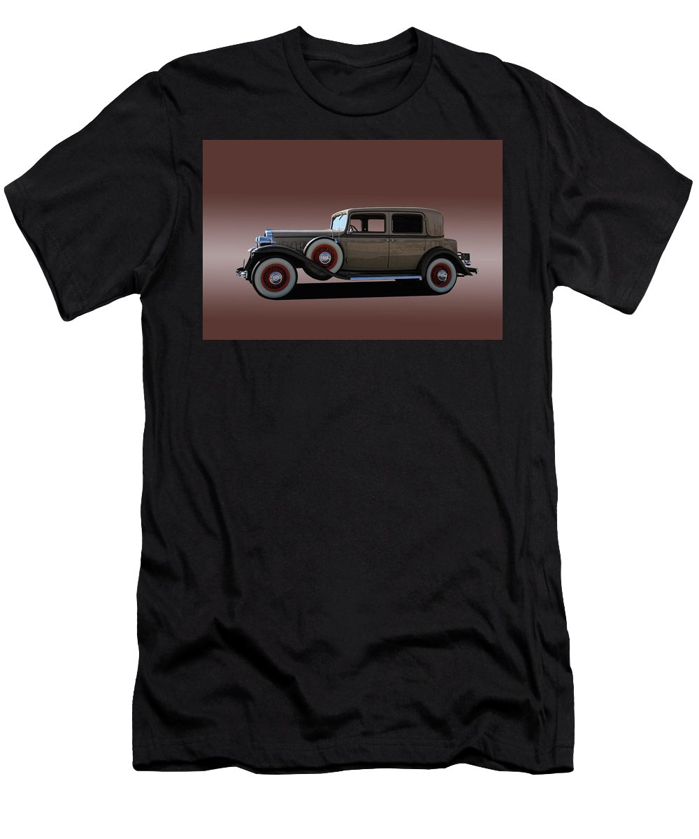 1932 Men's T-Shirt (Athletic Fit) featuring the photograph 1932 Classic Buick 4 Door Sedan by Nick Gray
