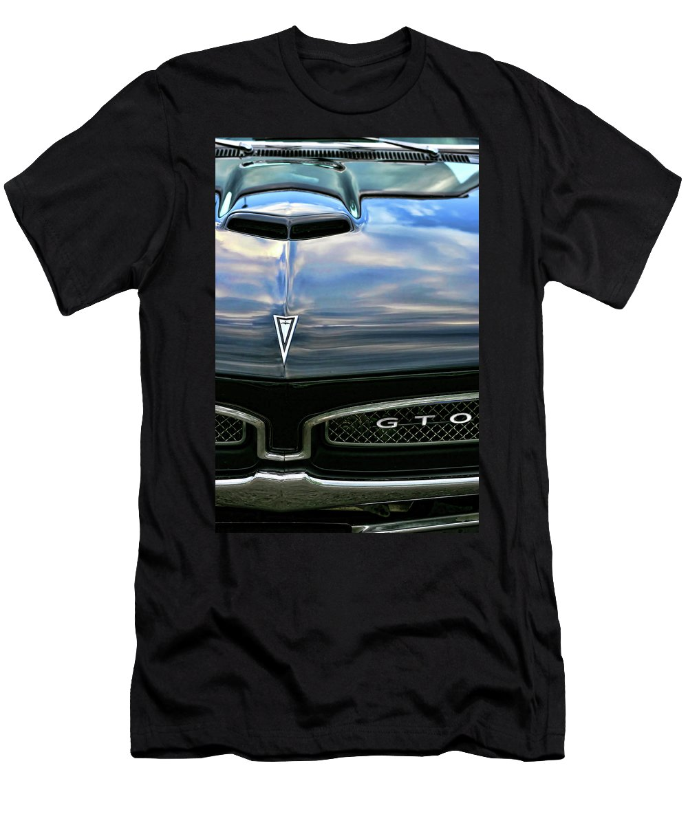 1967 Men's T-Shirt (Athletic Fit) featuring the photograph 1967 Pontiac Gto by Gordon Dean II