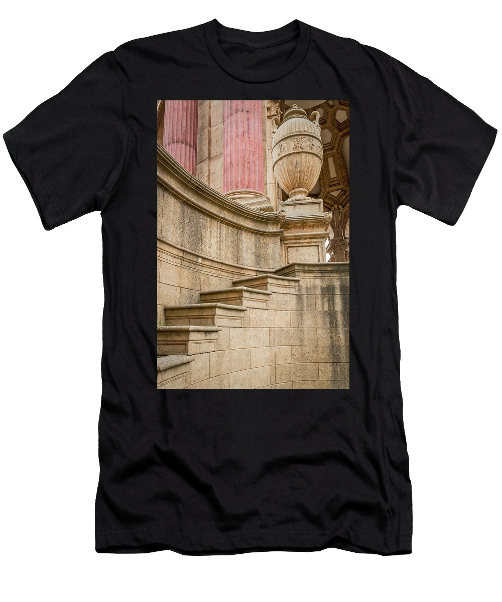 Palace Of Fine Arts Men's T-Shirt (Athletic Fit) featuring the photograph 2541- Palace Of Fine Arts by David Lange