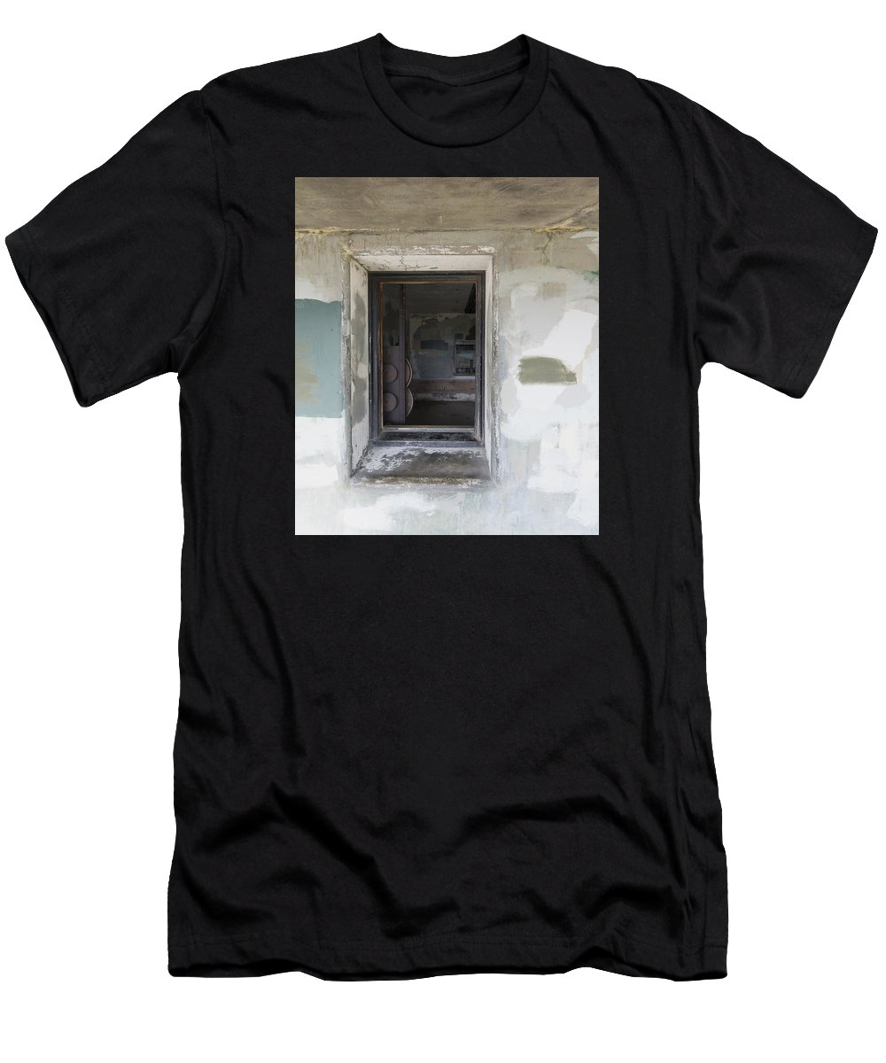 Window Men's T-Shirt (Athletic Fit) featuring the photograph 7-A by Garth Pillsbury