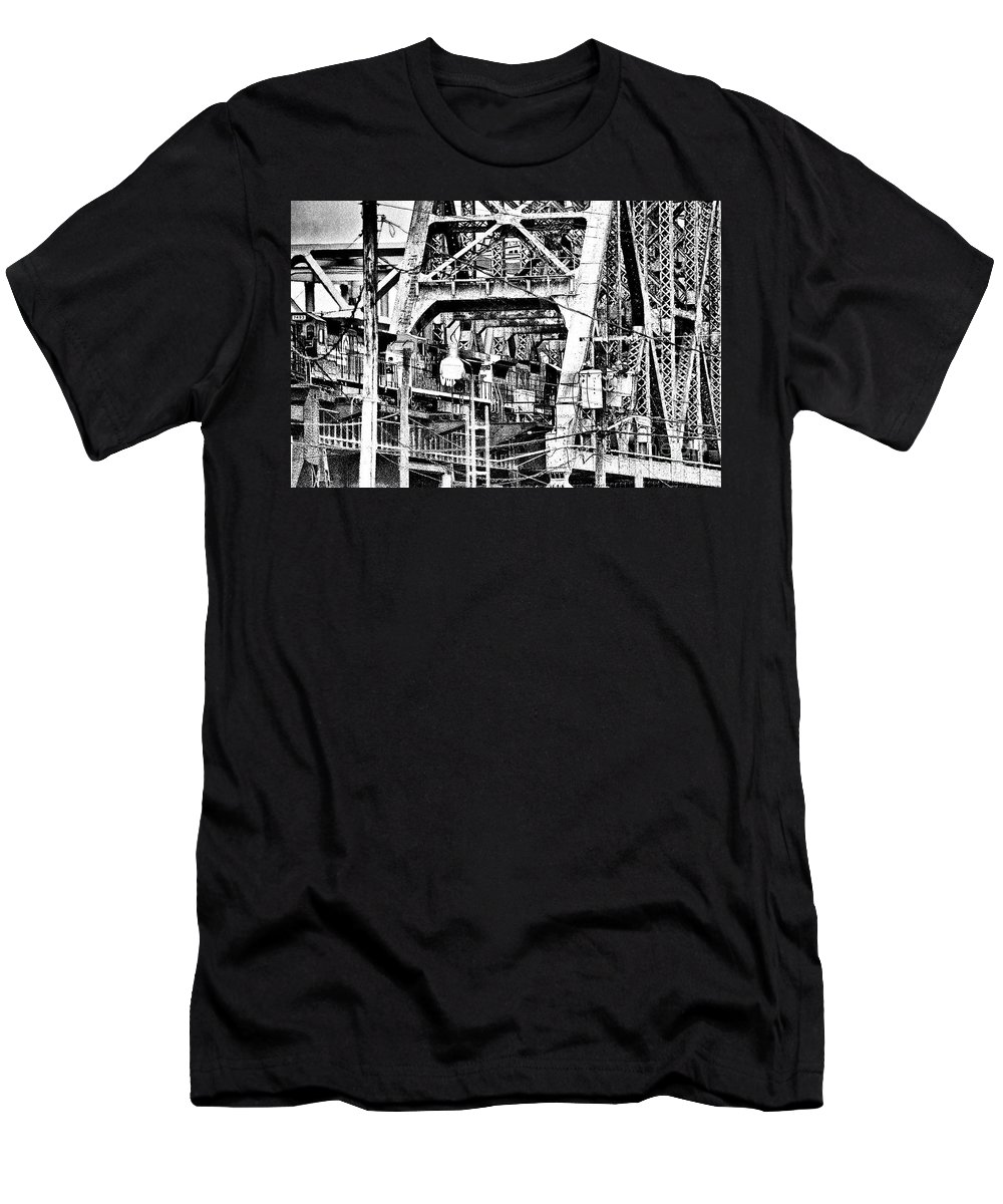 Bridge Men's T-Shirt (Athletic Fit) featuring the photograph A37 by Tom Griffithe