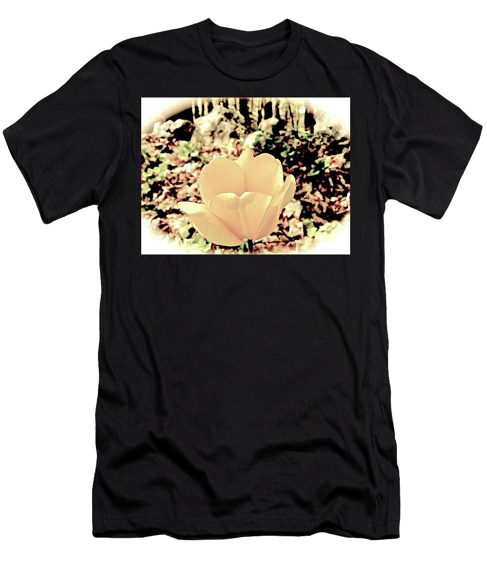 Men's T-Shirt (Athletic Fit) featuring the photograph Angel Of The Morning by Elizabeth Tillar