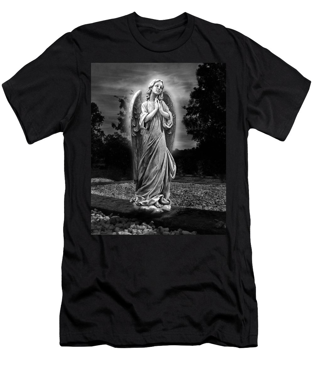 Bask In His Glory Men's T-Shirt (Athletic Fit) featuring the photograph Bask In His Glory by Peter Piatt