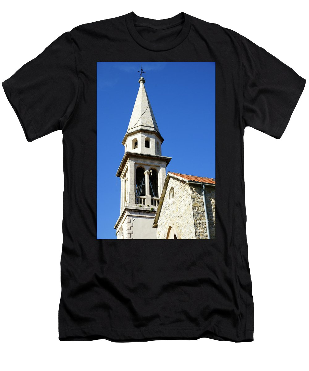 Travel Men's T-Shirt (Athletic Fit) featuring the photograph Budva, Montenegro by Ruth Hofshi